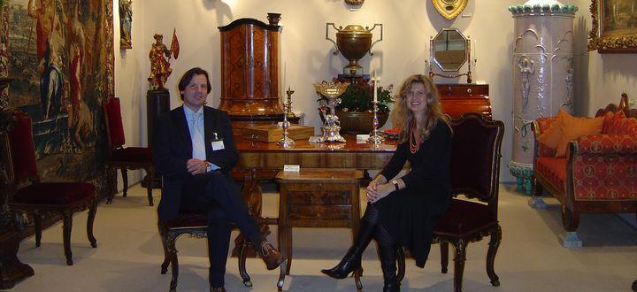 Sabine & Matthias Figl Antiquitätenhandel in dritter Generation-